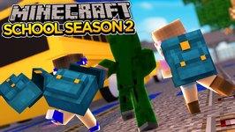 Minecraft School-Season 2-MISSING THE FIRST DAY!!