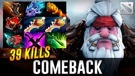 Sniper Comeback is Rial 39 KILLS Dota 2