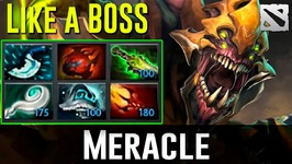 Meracle Sand King BOSS Dota 2