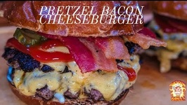 The Best Smash Burger / Burger King Pretzel Cheeseburger