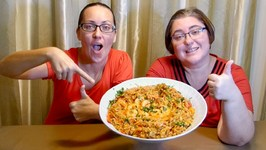 Special Rice And Prawns -Gay Family Mukbang- Eating Show