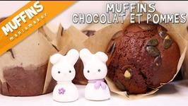 Muffins Chocolat / Pommes En Partenariat Avec Deroche Fr
