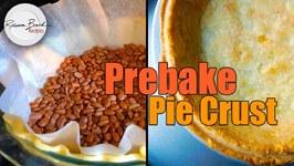 How To Blind Bake Pie Crust - Pre Bake A Pie Crust