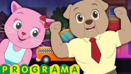 pegadinha no cinema de gatinhos vs cachorros - show de comédia - ChuChu TV Cutians