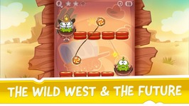 Cut the Rope- Time Travel - The Wild West and The Future Update