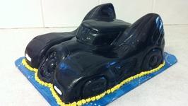 Batmans Batmobile Cake ( How To)