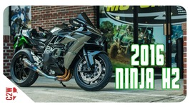 2016 Kawasaki Ninja H2 - First Ride