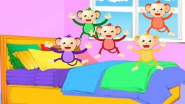 Five Little Monkeys - Nursery Rhyme With Lyrics