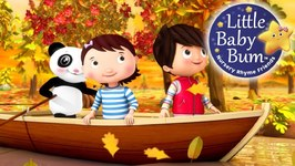 Row Your Boat - Nursery Rhymes for Babies - Songs for Kids