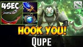Qupe Pudge HOOK YOU Dota 2