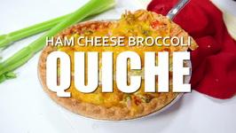 Ham And Cheese Broccoli Quiche