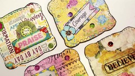 DIY EMBELLISHMENTS - PAPER CRAFTS - SCRAPS, STICKERS and STASH