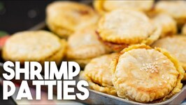 Shrimp Or Prawn Patties - Spicy Filling Encased In Puff Pastry