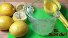 Quick Tips - Lemon Juicing Tips