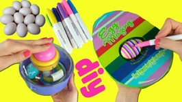 Easter Egg Decorating Kit Opening! Eggmazing Decorator vs Spin an Egg (DIY Crafts)
