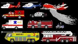 Emergency Vehicles - Book Version