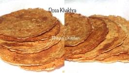 How To Make Dosa Khakhra