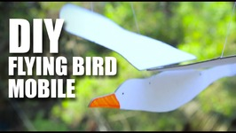 DIY Flying Bird Mobile  Room Décor Ideas