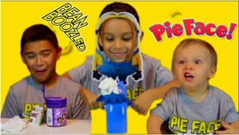 MINION PIE FACE CHALLENGE and BEAN BOOZLED
