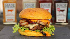 Candied Bacon Burger