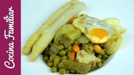 Menestra de verduras en conserva, recetas para dieta  Recetas de Javier Romero