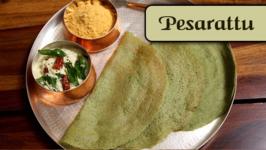 Pesarattu  Green Gram Dal Dosa Recipe  Divine Taste With Anushruti