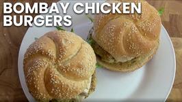 Bombay Chicken Burgers
