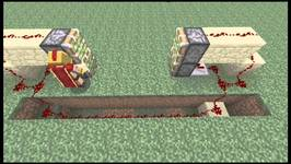 How to build a 2x2 Automatic Door in Minecraft