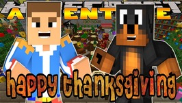 Minecraft - Little Donny Adventures - THANKS GIVING DINNER & SHOPPING AT THE MALL