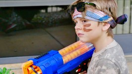 Nerf War - Nicks Revenge 2