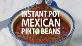 Instant Pot Saucy Mexican Pinto Beans