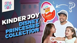 Kinder Joy - Disney Princesses Collection