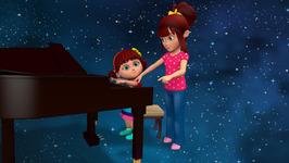 Elsa and Anna Sing- Kookaburra-Popular Children's Song