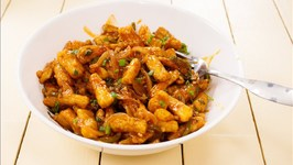 Babycorn Manchurian - Crispy And Easy Restaurant Style