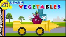 Fun Learning Names Of Vegetables - Vegetable Names For children Kids Toddlers - Vegetable Benefits