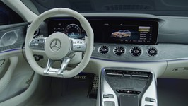 The All New Mercedes-AMG GT 63 S 4MATIC  4-Door Coupe - Studio Design Interior