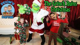 THE GRINCH RUINS CHRISTMAS - DEION'S PLAYTIME