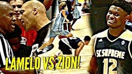 Lamelo Ball Vs Zion Williamson Was Insane Lonzo Ball, Dame Lillard, Osn And Insane Crowd Watching