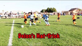 Deion's Hat Trick Soccer (little rascals vs. dynamo)