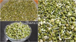 How To Sprout Moong Beans / Seeds Sprouting