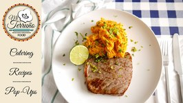 Zesty And Spicy Sweet Potato Mash