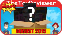 August 2015 Awesome Pack Subscription Box Unboxing Review