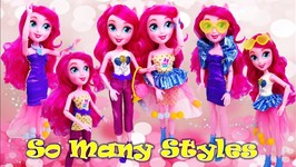 2 Outfit 20  Styles - Pinkie Pie Fashion With So Many Styles MLP Doll