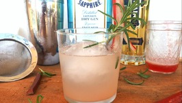 Cocktail Recipe- Gin, Rhubarb And Rosemary Cocktail