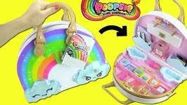 Poopsie Chasmell Rainbow Slime Kit Surprise Unboxing! Makeup  Unicorn DIY Slime