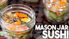 Mason Jar Sushi - Portable Sushi In A Jar