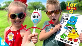 Toy Story 4 Movie Art Challenge Diy Forky And 3 Marker Woody