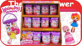 Lalaloopsy Minis Series 2 Paint Cans Blind Bags Full Case Box Unboxing Toy Review