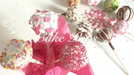 Como Hacer Cake Pops Paso A Paso / Cake Pops Faciles / Cake Pops De Muffins En Espaol