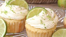 Margarita Cupcakes And Tequila Lime Frosting